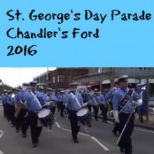 Chandler's Ford St. George's Day Parade 2016