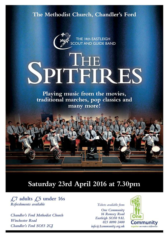 The Spitfires concert 23 April 2016