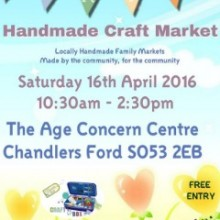 Not Just Crafts: Chandler's Ford Craft Market – Crafters, Author, Cartoonist