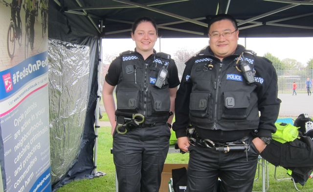Eastleigh Police at Fryern Funtasia 2016.