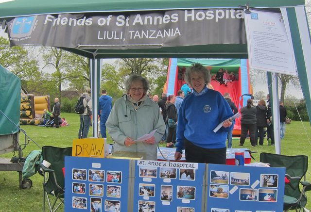 "<a href=""http://chandlersfordtoday.co.uk/the-friends-of-st-annes-hospital-liuli-chandlers-ford/"">The Friends of St. Anne's Hospital, Liuli</a>: Julie Bourne and Judith James sharing work in Tanzania with the community. Fryern Funtasia 2016."