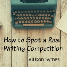 How to Spot a Real Writing Competition