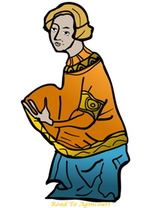 Medieval Person - image from Eastleigh Borough Council