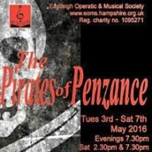 Review: The Pirates of Penzance by Eastleigh Operatic and Musical Society