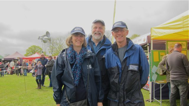 Chandler's Ford Street Pastors: Sara Goodhead, Tim Groves and Nigel Fenwick.