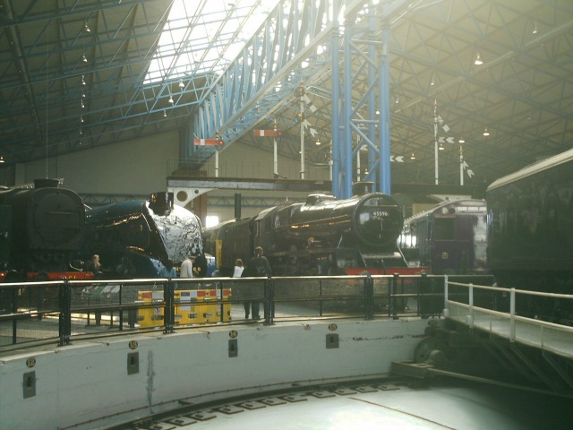 A selection of engines