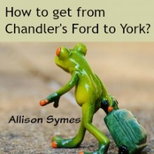 Away Days from Chandler's Ford Station: York