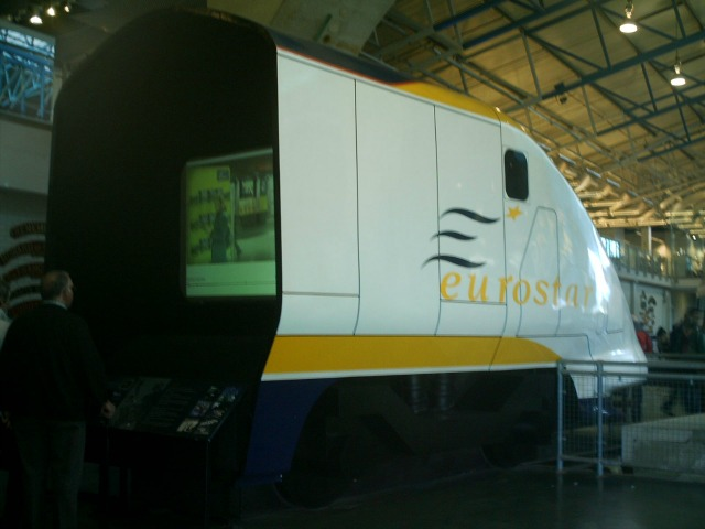 Eurostar at the National Railway Museum