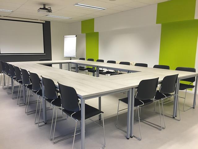 A typical Creative Writing Group classroom - image via Pixabay
