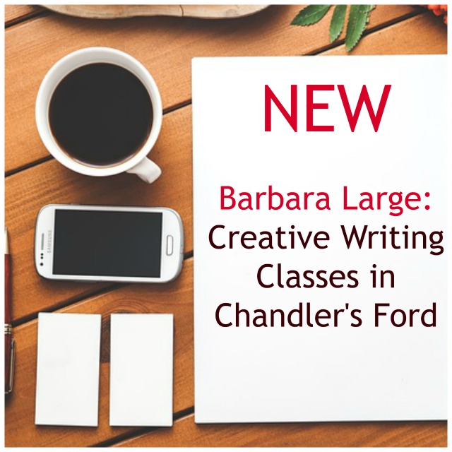 Barbara Large New Creative Writing Classes Image