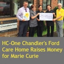 HC-One Chandler's Ford Care Home: Tea Party Raises Money for Marie Curie
