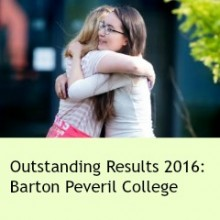 Outstanding A Level and Vocational Results at Barton Peveril – 2016