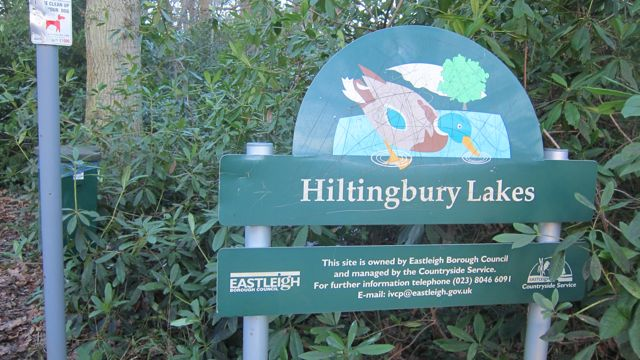 Hiltingbury Lakes, Chandler's Ford.