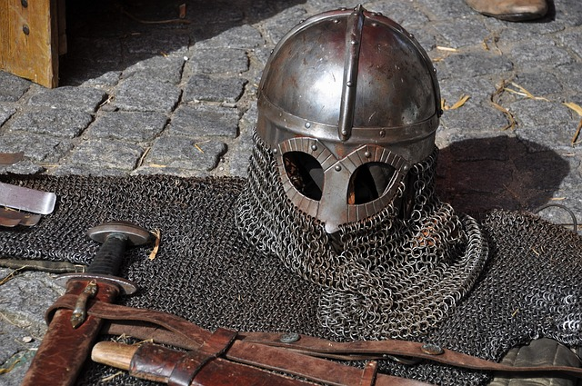 A Knight's Armour. Image via Pixabay