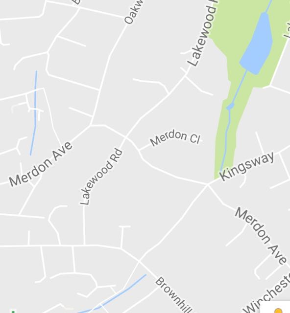 Brownhill Road Lakewood Road