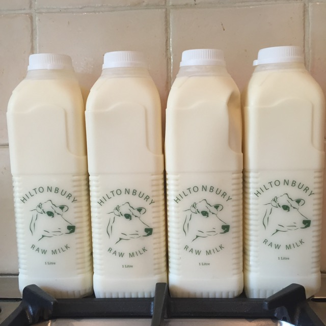 Hiltonbury Raw Milk (1 litre)