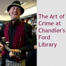The Art of Crime at Chandler's Ford Library: 14th Sep 2016 7pm