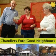 Chameleon Theatre Company Supports Chandler's Ford Good Neighbours