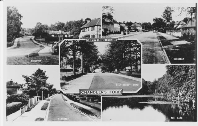 Old images of Chandler's Ford. Image credit: Eastleigh and District Local History Society.