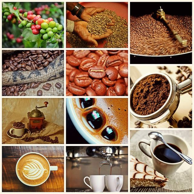 coffee collage by cocoparisienne via Pixabay