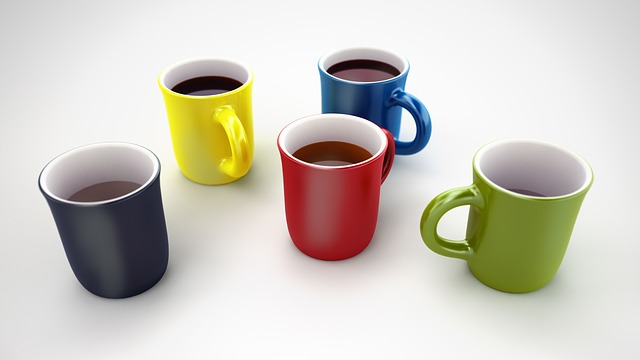 Coffee mugs image by mwewering via Pixabay