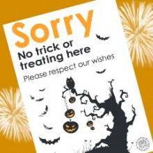 Halloween – Want to Avoid Trick or Treat?