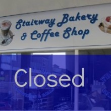Closed: Stairway Bakery and Coffee Shop at Fryern Arcade