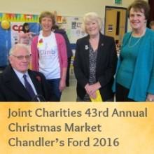 Review: Joint Charities 43rd Annual Christmas Market Chandler's Ford 2016