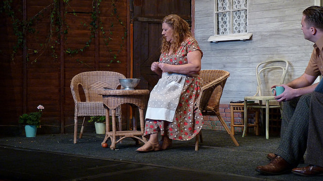A study in anguish but worse is to come. All My Sons - performed by Chameleon Theatre Company, Chandler's Ford.