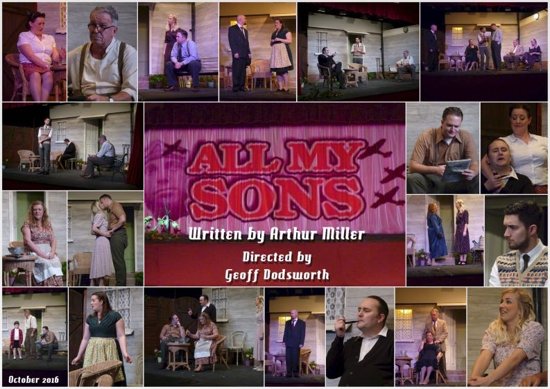 All My Sons - performed by Chameleon Theatre Company, Chandler's Ford.