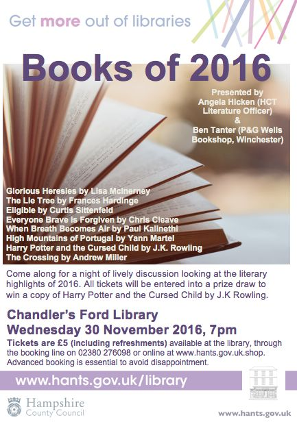 Book of 2016 Chandler's Ford Library