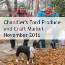 Christmas at Chandler's Ford Produce and Craft Market 2016