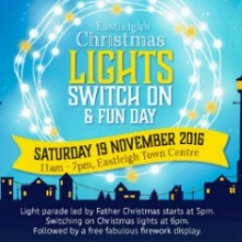 Eastleigh Christmas Lights Switch On and Fun Day; Winter Open Studios 2016