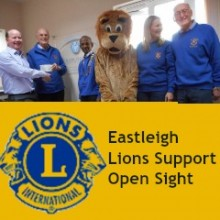 World Sight Day: Lions Club of Eastleigh Supports Open Sight