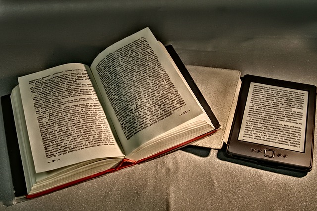 Two Formats for Reading and Chandler's Ford Library stocks both. Image via Pixabay