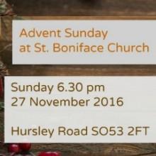 Advent Sunday at St Boniface Church: Sunday 27 November 2016