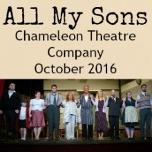 Review: All My Sons – Chameleon Theatre Company 2016