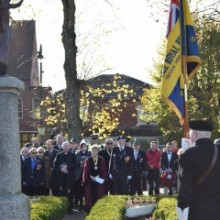 Sunday 13th November 2016 – Remembrance Sunday Service in Eastleigh Borough