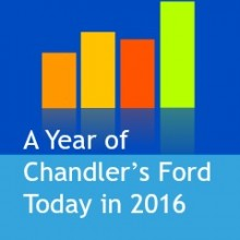 A Year of Chandler's Ford Today in 2016