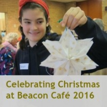 Christmas Gathering at Beacon Café, St. Boniface Church 2016