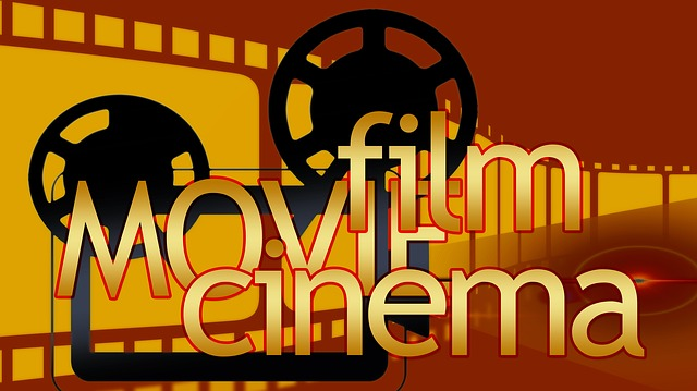 Film is enhanced with the right soundtrack - image via Pixabay