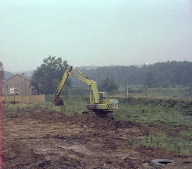 North Millers Dale, Chandler's Ford, in 1982. Image by Nicola Slade.