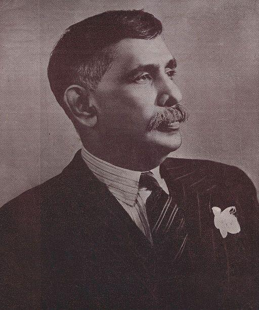 portrait of Don Stephen Senanayaka (1884-1952).