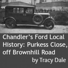 Chandler's Ford Local History: Purkess Close, off Brownhill Road
