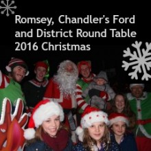 Santa and The Round Table Visiting Chandler's Ford Area