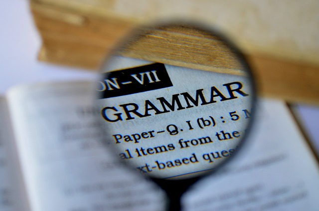 Deliberate distortion of the English grammar is not uncommon. Image by PDPics via Pixabay.