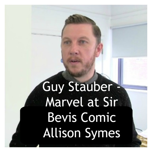 Feature Image Guy Stauber Sir Bevis Comic - image supplied by Eastleigh Borough Council