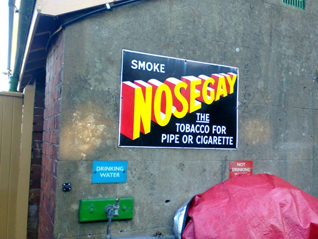 Nosegay tobacco - wrong on so many levels