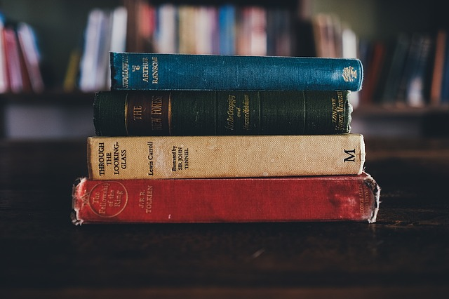 Now these are classic books - image via Pixabay