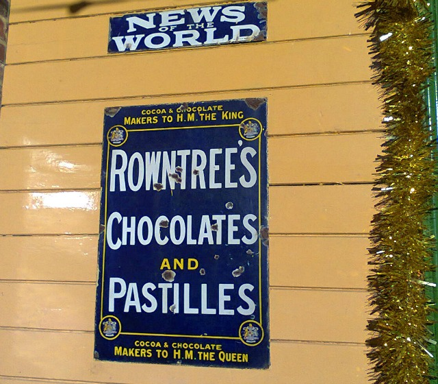 Rowntrees - Just how old is this sign